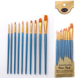 DIY Nylon Paint Brush Set