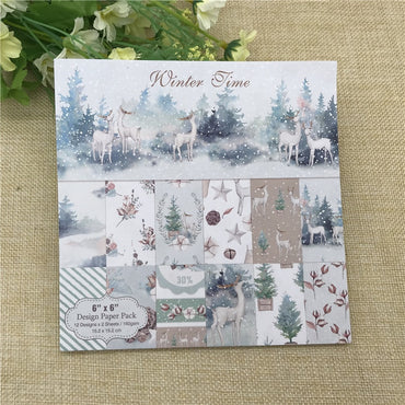 Winter Time Scrapbooking Pad