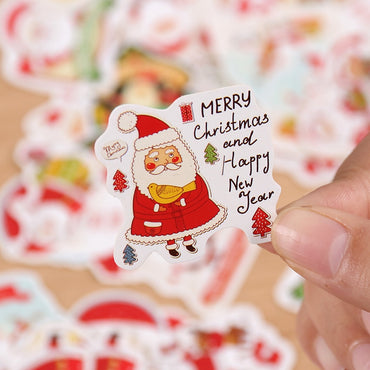 Santa Claus Scrapbooking Stickers