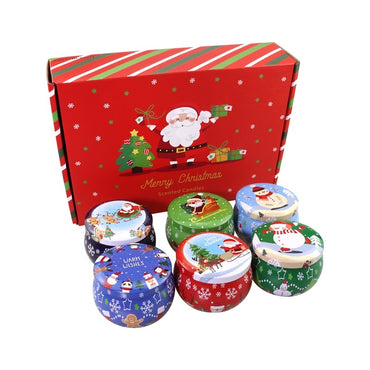 Christmas Tin Containers
