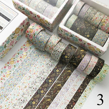 Decorative Scrapbooking Tape (Dark)