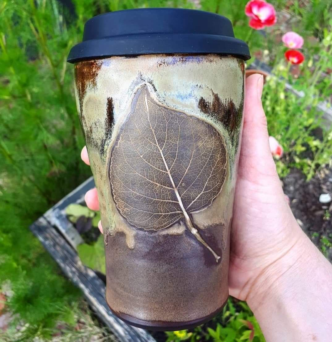 Adventure Cup to Go - Tall/ Leaf #2