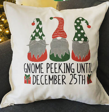 Gnome peaking until Dec 25
