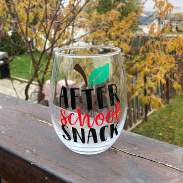 Teacher Wine Tumblers