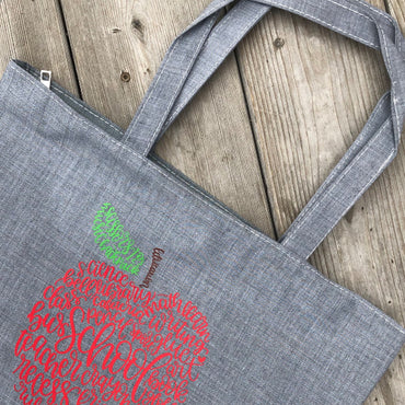 Canvass Tote for Teachers