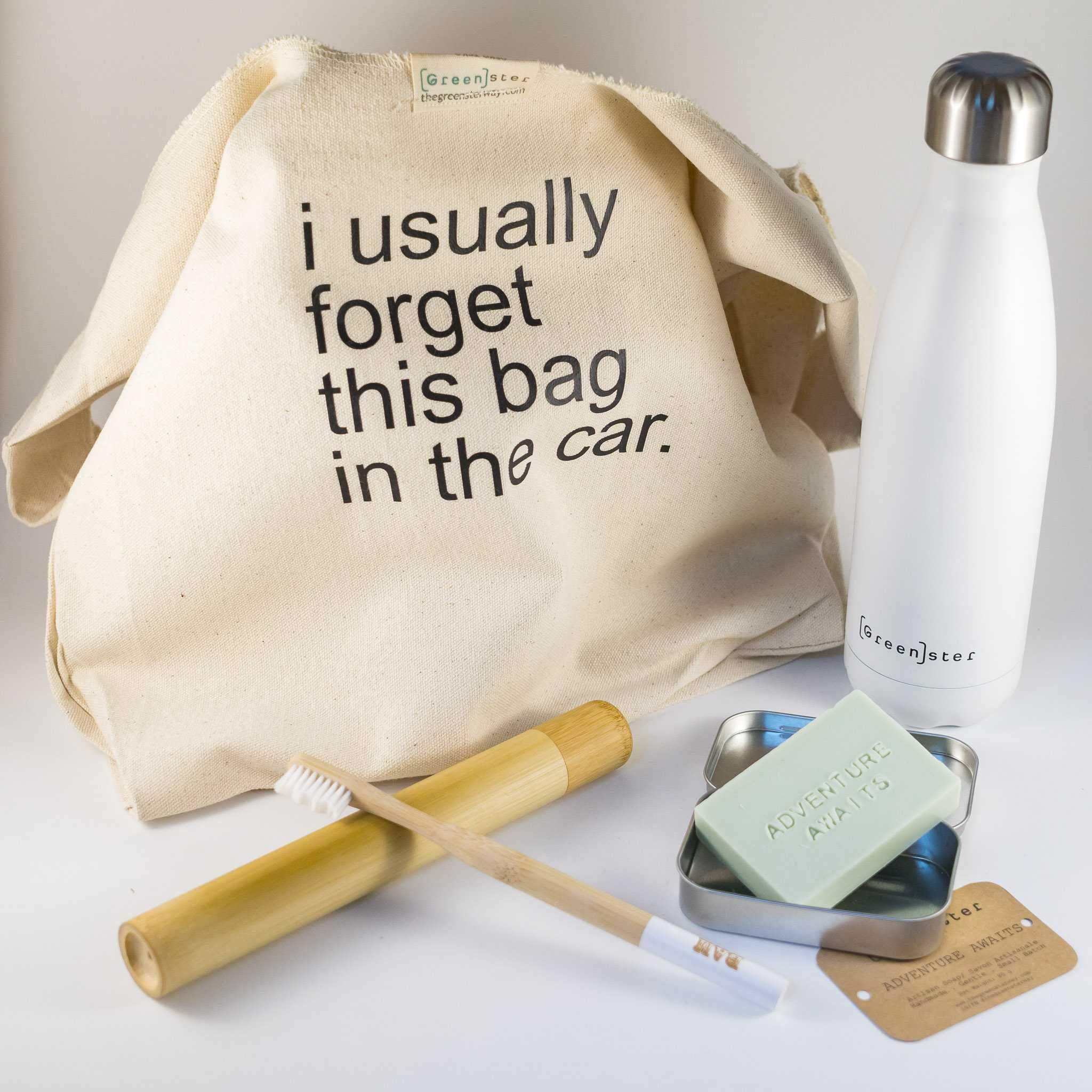 Zero Waste Traveller Kit