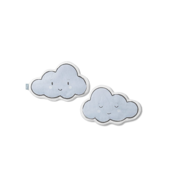 Blue cloud cushion pillow
