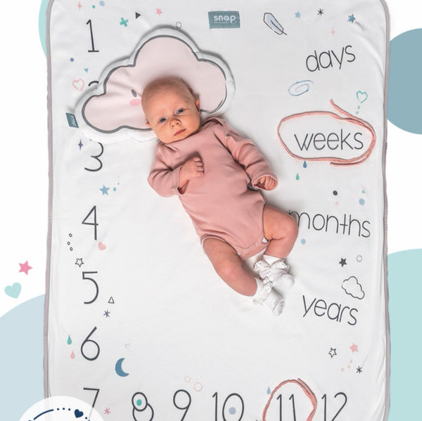 Photo swaddle blanket