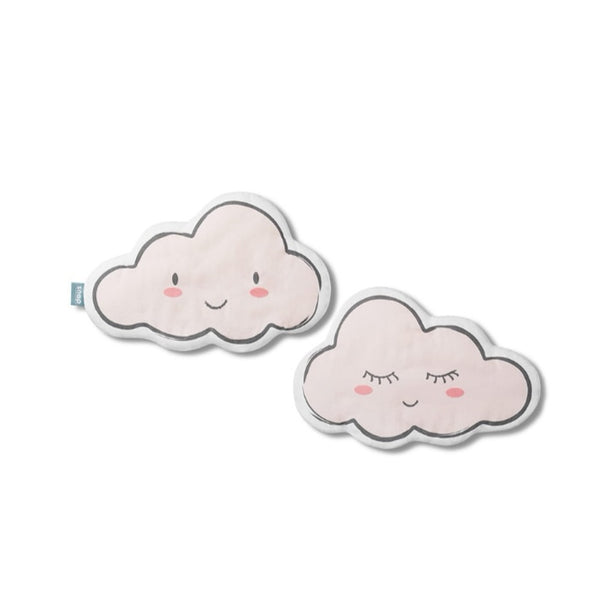 Pink cloud cushion pillow