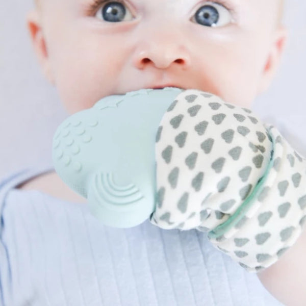 Belo Teething Mitt BLUE