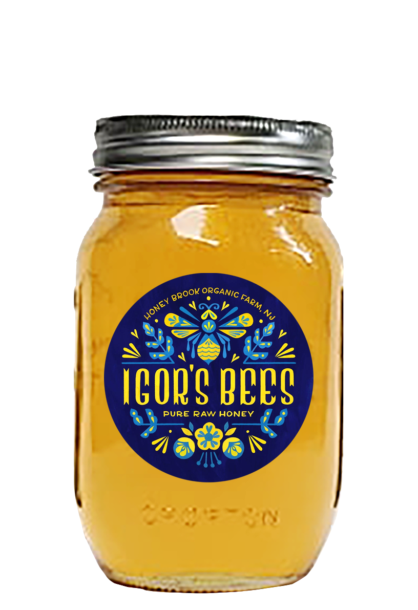 Black Locust Honey in Mason Jar 1.5 Lb