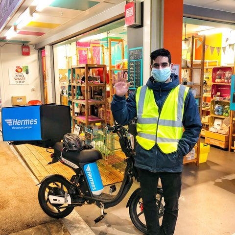 Hermes Electric Bike Delivery