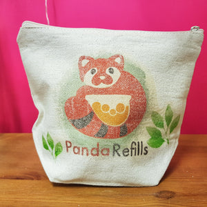 Conrad the Panda Organic Cotton Toiletry Bag