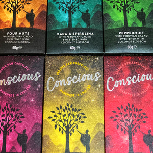 Conscious Vegan Chocolate Bars