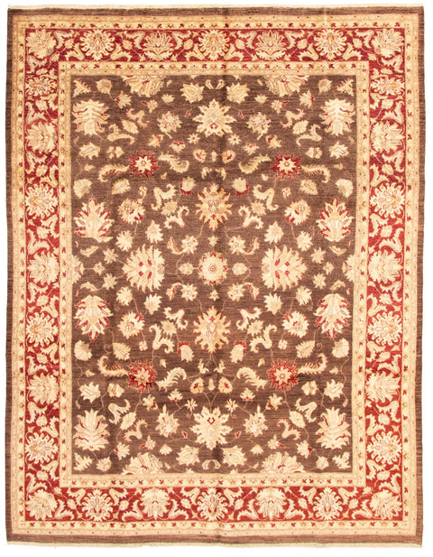 "CLASSICS. Hand-Knotted Rug, 8'11"" x 11'8"""