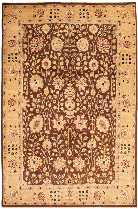 "CLASSICS. Hand-Knotted Rug, 9'9"" x 14'11"""