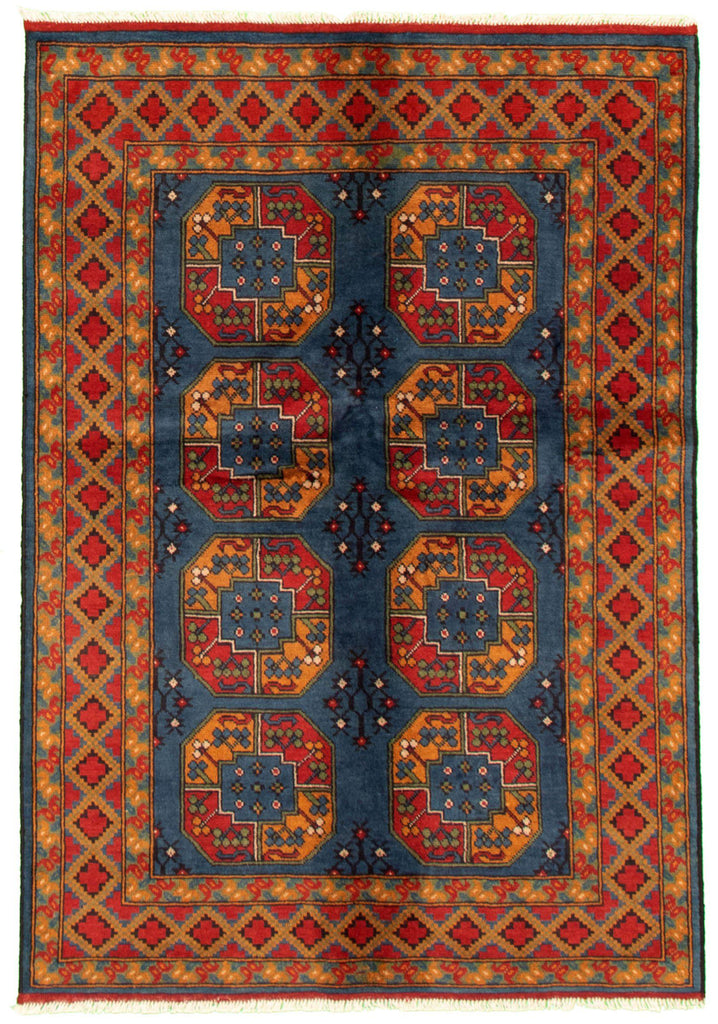 "TRIBAL. 4'10"" x 6'9""-[SKU]-Babylon-Rugs"