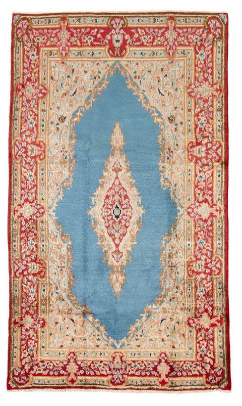 "KERMAN. Hand-Knotted Persian Rug, 4'8"" x 8'0""-[SKU]-Babylon-Rugs"