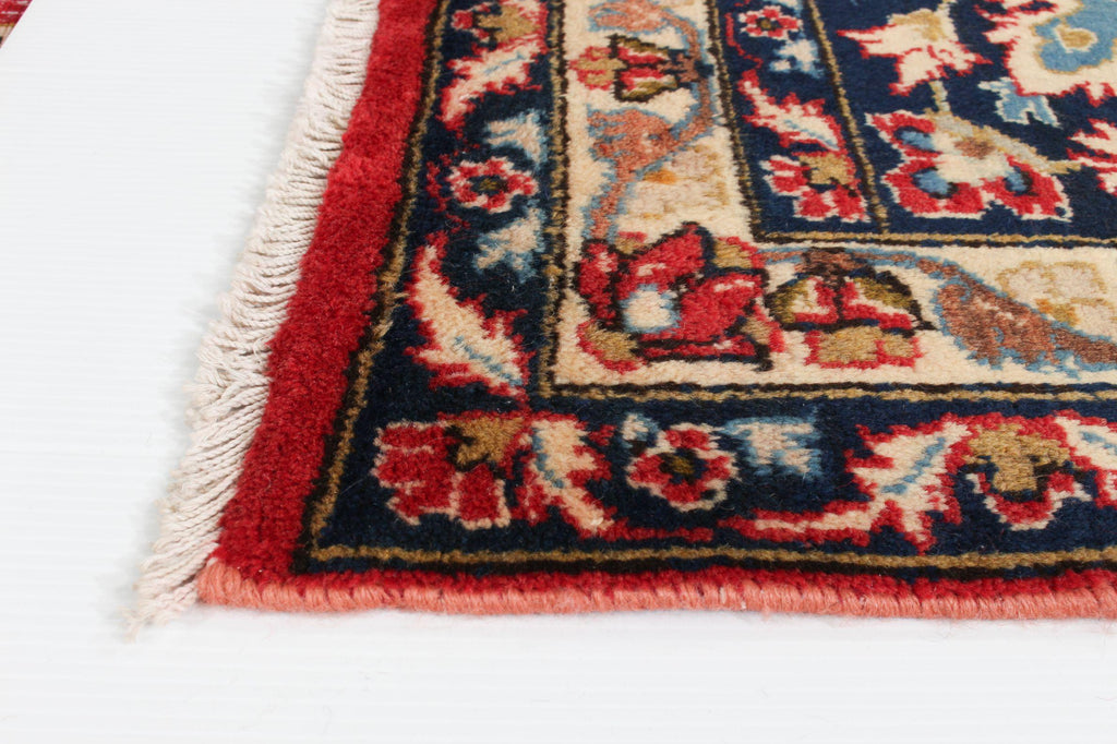 "NAJAFABAD. Hand-Knotted Persian Rug, 8'9"" x 11'10""-Rug-B A B Y L O N"