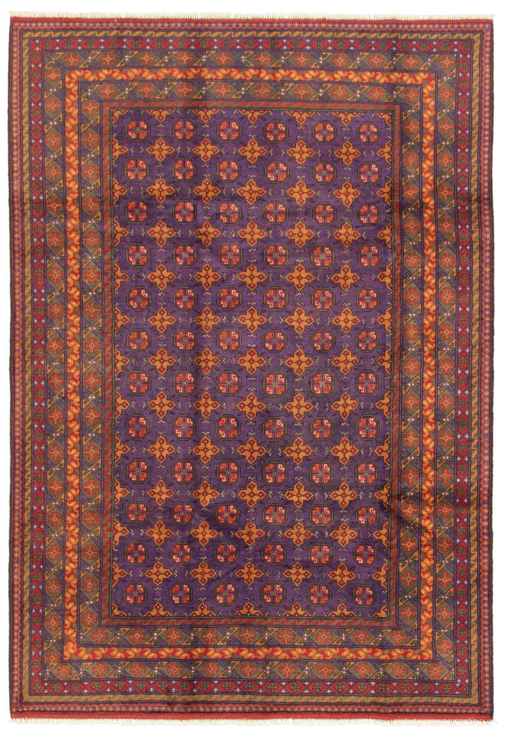 "TRIBAL. 6'9"" x 9'9""-[SKU]-Babylon-Rugs"