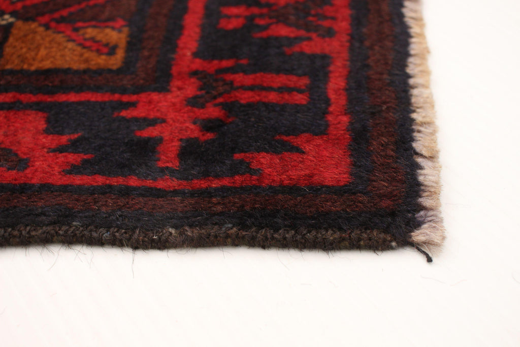 "TRIBAL. 8'1"" x 12'1""-[SKU]-Babylon-Rugs"