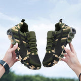 Massimoda All Season Camouflage Breathable Sneakers