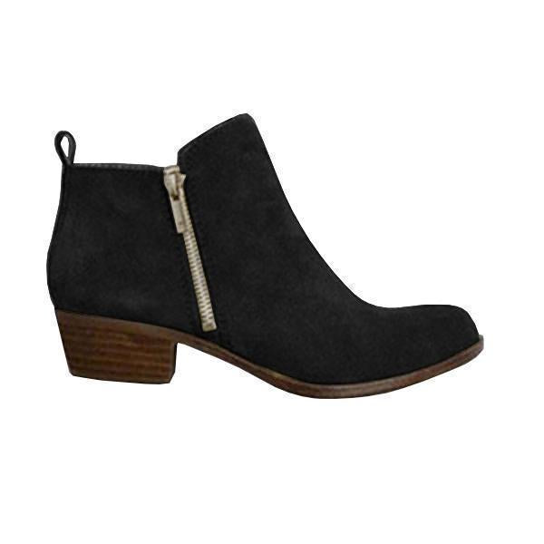 Massimoda Plus Size Fall Vintage Boots