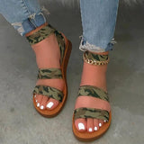 Massimoda Summer Flat Sandals