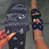Massimoda Fashion Slip-On Sandals