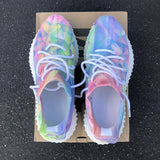 Massimoda Pastel Prism Lace-Up Casual Sneakers