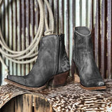 Massimoda Vintage Casual Winter Boots