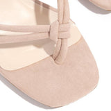 Massimoda Single Sole Heel Flip-flops Sandals