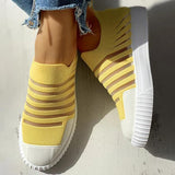 Massimoda Hollow Out Patchwork Casual Sneakers