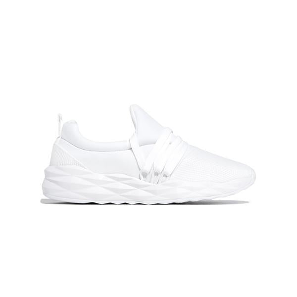 Massimoda Women's Lace-Up Slip-On Lightly Sneakers