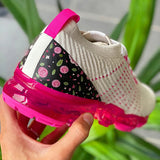 Massimoda Air Flower Woven Fashion Sneakers