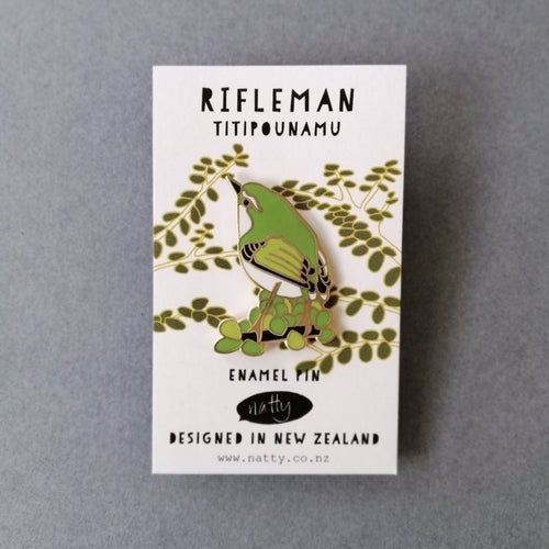 Rifleman Enamel Pin