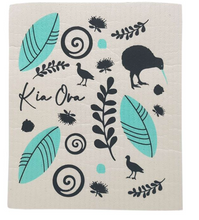Load image into Gallery viewer, Kiwiana Style Eco Dishcloth