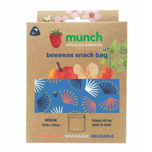 Munch Cupboard Beeswax snack bags