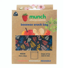 Load image into Gallery viewer, Beeswax Snack Bags