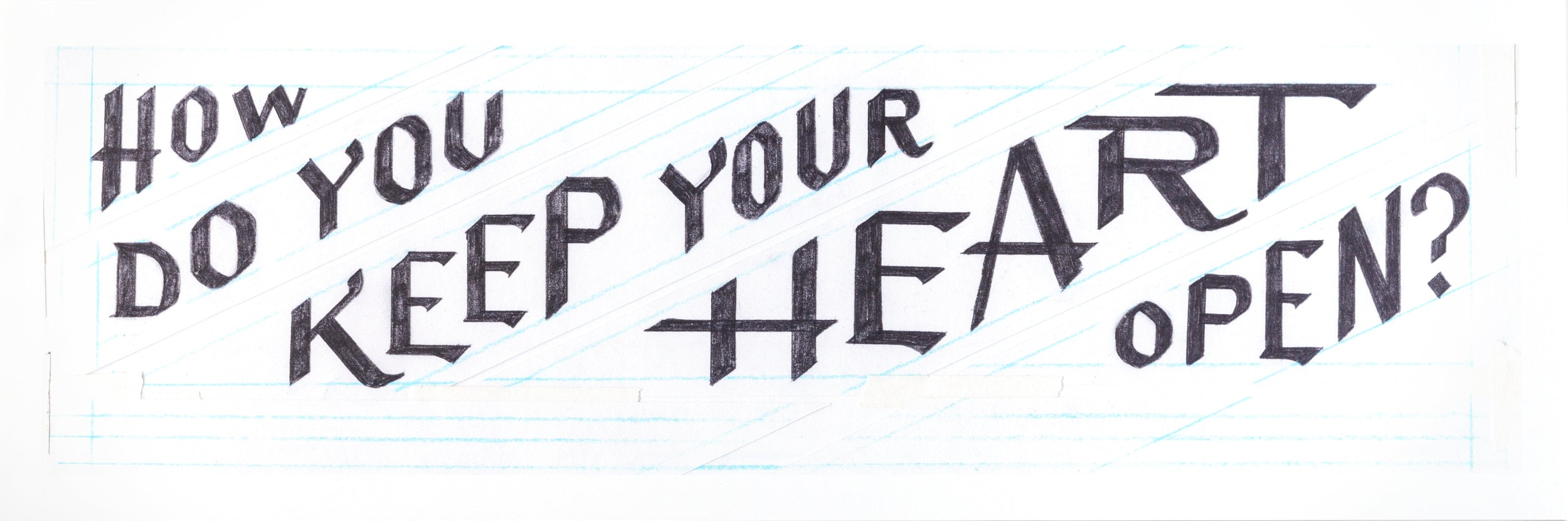 How Do You Keep Your Heart Open? (For Susan)