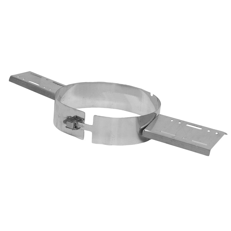 "Roof Support Bracket 4"" Twinwall Stainless"
