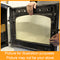 Ekol Inset 5 Mirrored  Replacement Stove Glass