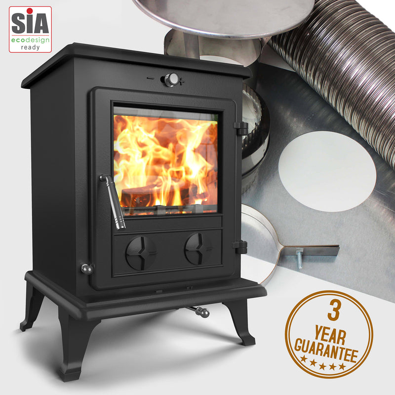 Oslo Eco  Stove and Liner Package Deal