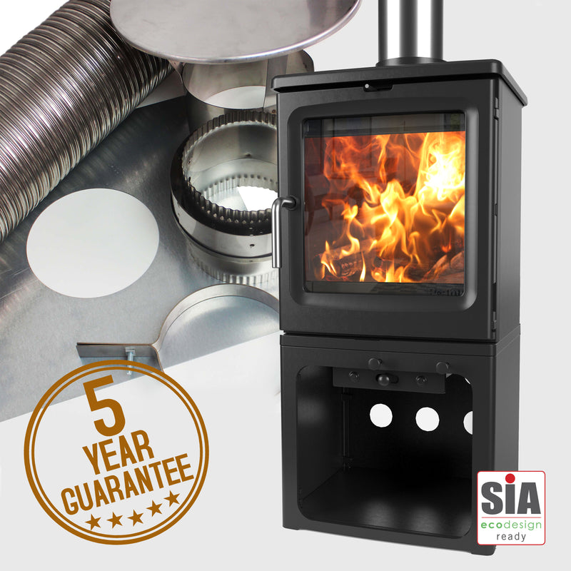 Peanut 5 (Tall) Stove and Liner Package Deal