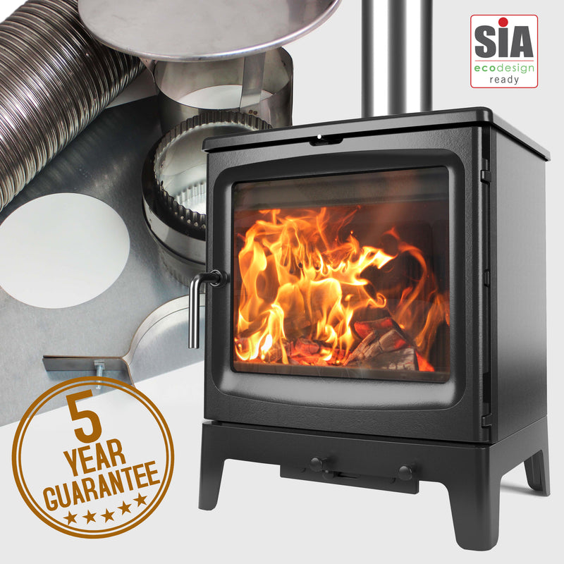 Bignut 5 (Low) Stove and Liner Package Deal