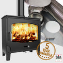 ST-X Wide(Low) Wood Only Stove and Liner Package Deal