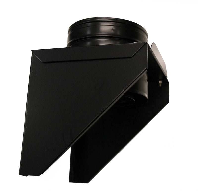 "Base Support 6"" BLACK Twinwall"