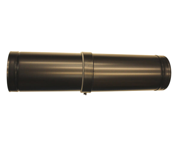 "Adjustable 530-880mm 5"" BLACK Twinwall"