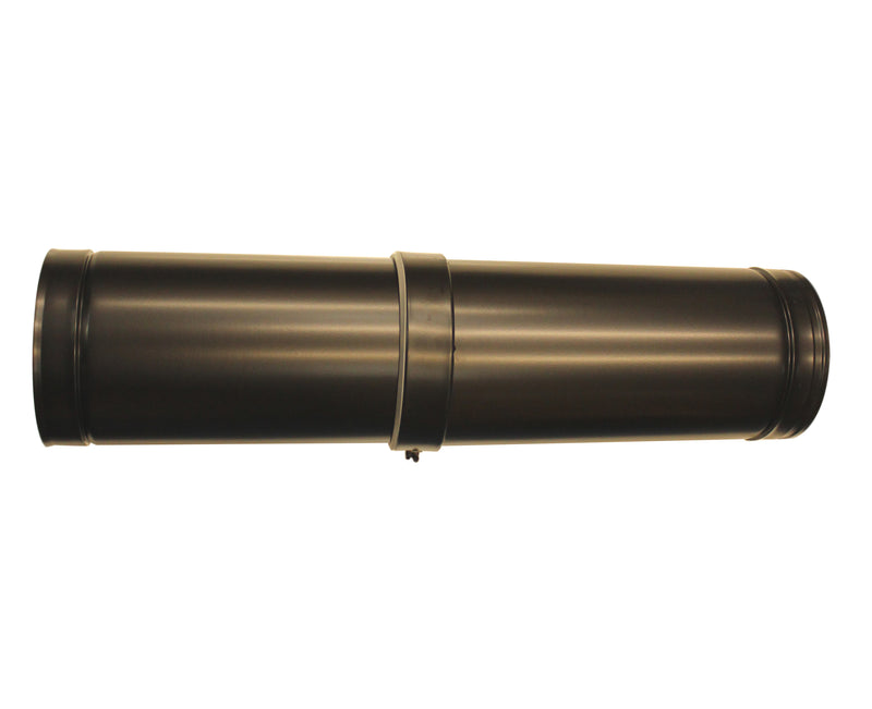 "Adjustable 530-880mm 6"" Black Twinwall"