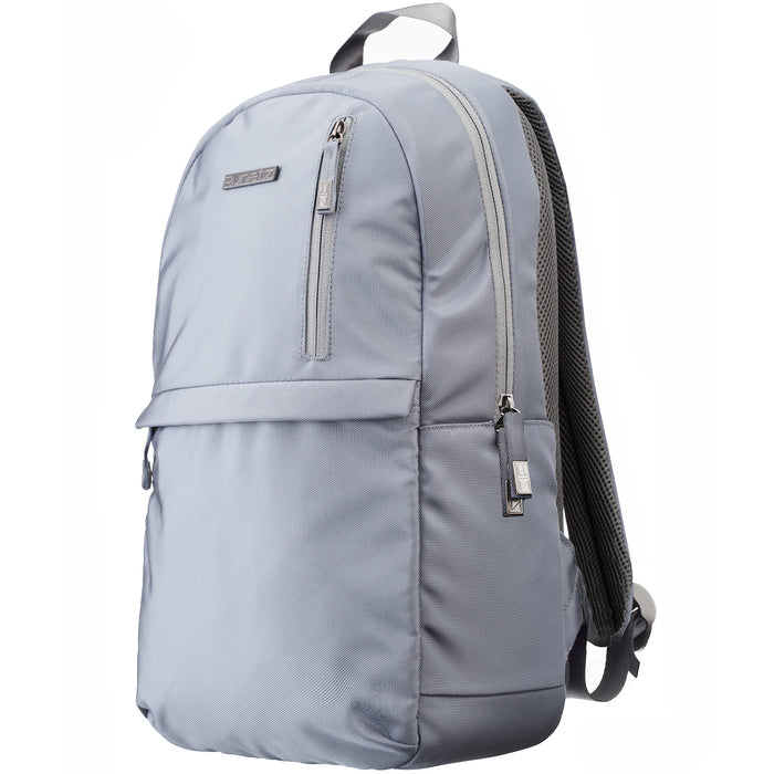 Runetz - GRAY Backpack / Daypack Bag for School and College to carry Books with MacBook & Laptop up to 15.6 inch - Grey